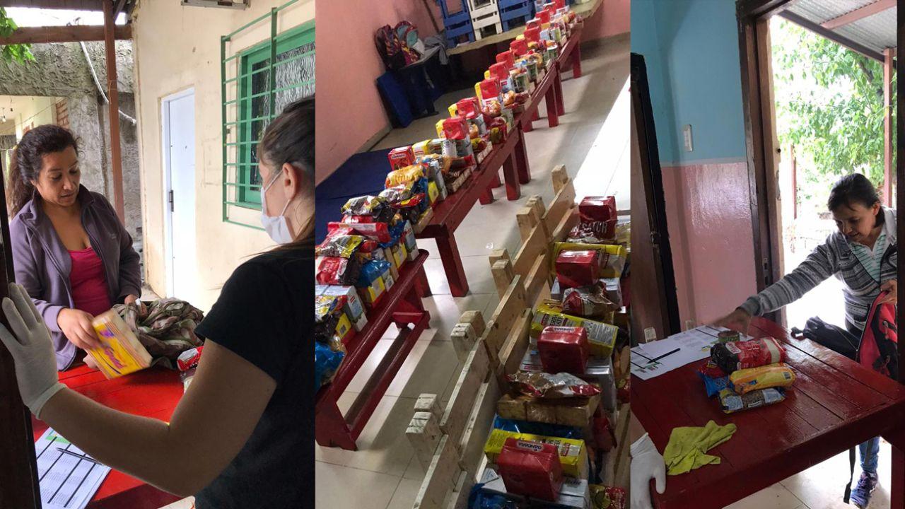 ONG reparten comida en barrios de extrema pobreza | Foto:cedoc