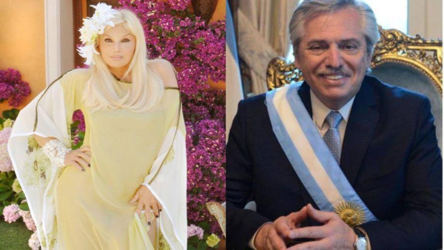 """Alberto Fernández le hizo un pedido a Susana Giménez: """"Que ayude"""""""