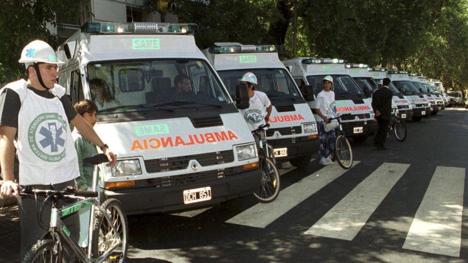Ambulancias SAME 20200401