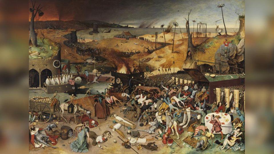 El triunfo de la muerte, cuadro de Pieter Brueghel(1525-1569).
