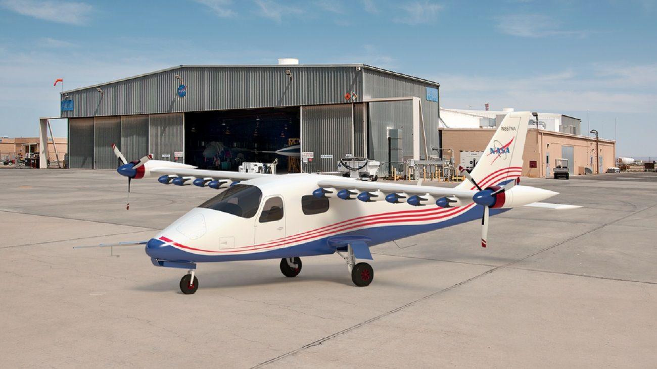 El innovador modelo X57 tendrá 14 motores y 14 hélices.