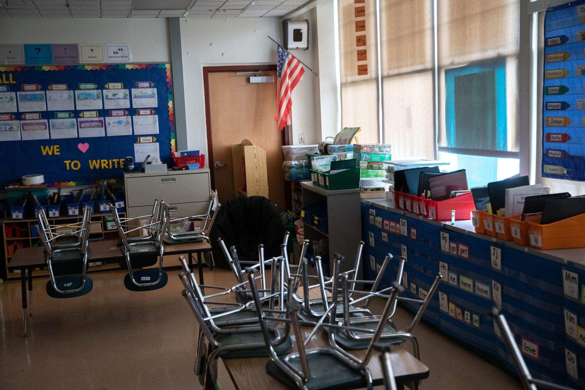 Schools Across The U..S. Close To Help Stop Spread Of Coronavirus