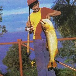 Pesca de dorados en Isla del Cerrito, año 1979.