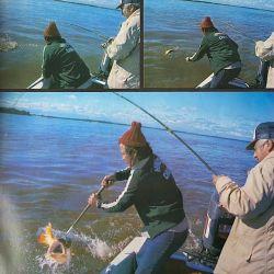 Así pescábamos dorados en el río Paraguay y el Correntoso en 1979.