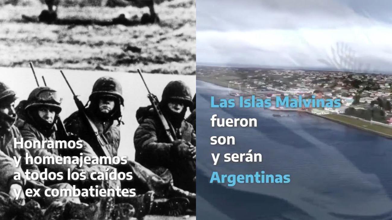 Alberto Fernández ratificó el reclamo argentino por la soberanía de las Malvinas