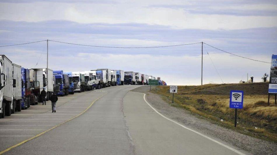 Camiones varados 20200402