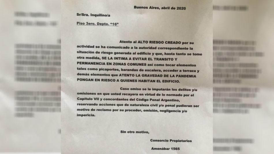 cartel discriminacion medica