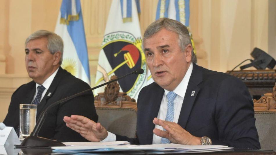 Gerardo Morales inauguró el 159° periodo de sesiones legislativas en Jujuy.
