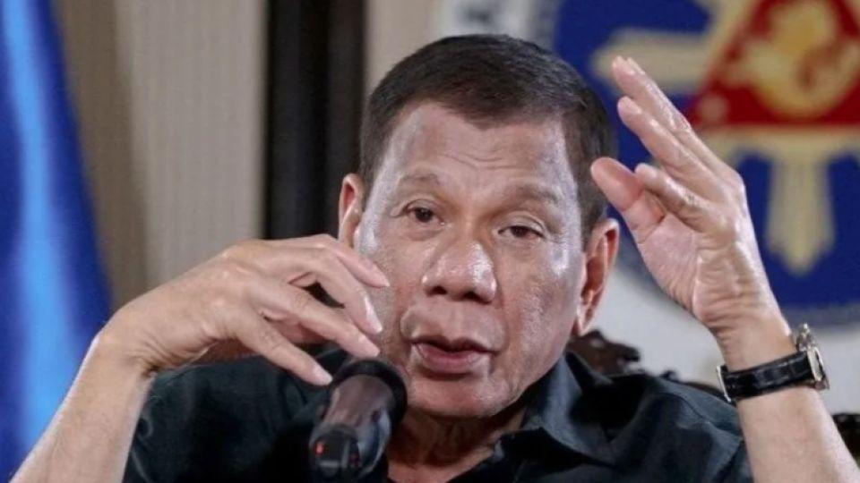 El presidente de Filipinas impactó con sus declaraciones