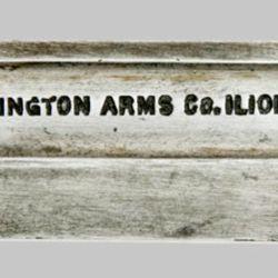 2) Remington Arms Co. Ilion. NUEVA YORK. (letras de imprenta).