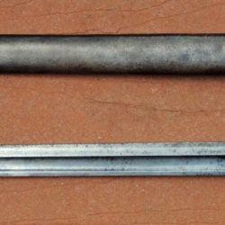 En cuanto a sus características técnicas es una bayoneta que tiene una longitud total de 514 mm.