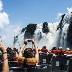 Cataratas del Iguazú, uno de los principales destinos turísticos de la Argentina.