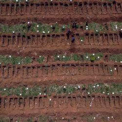 Cementerio de Villa Formosa San Pablo durante el Coronavirus | Foto:Agencia Afp