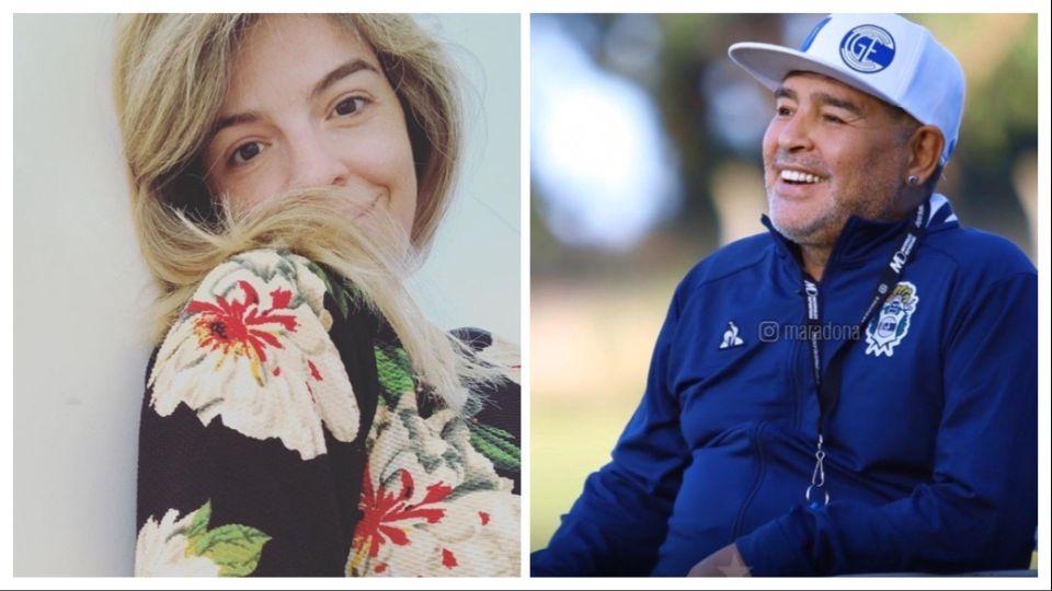 Dalma Maradona reveló que finalmente, Diego Maradona, conoció a su hija, Roma
