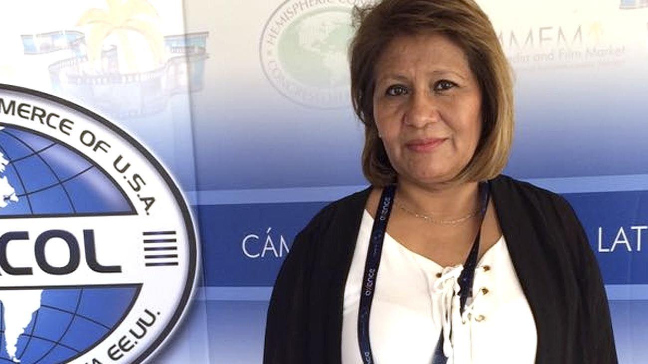 Yolanda Durán titular de la Cámara de supermercados Chinos en Argentina.