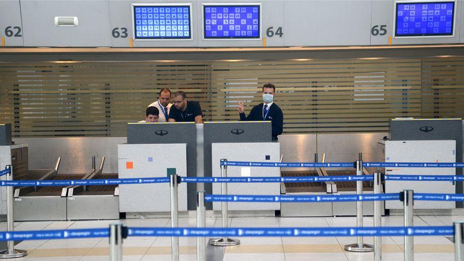 20200404 Coronavirus Aeropuerto Ezeiza-g-Pablo Cuarterolo