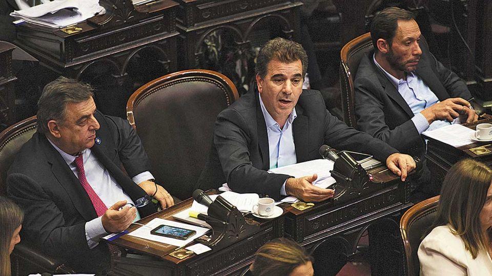 Negri, Ritondo y Ferraro.