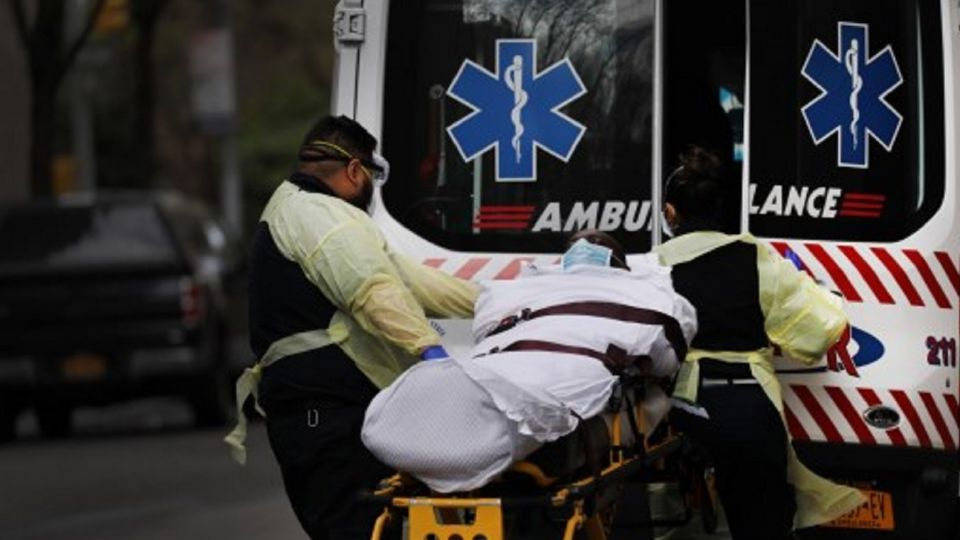 Nueva York registra récord de 630 muertes en un día