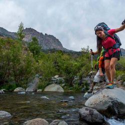 El trekking es una actividad que se basa en la autosuficiencia.