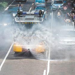 El mundo en cuarentena | Foto:AFP
