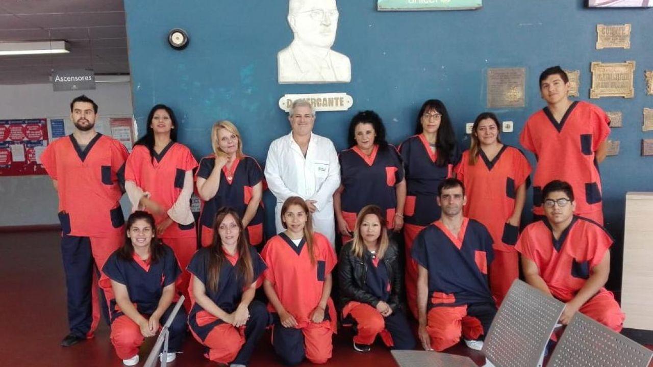 Algunos de los profesionales que se incorporaron a los hospitales bonaerenses | Foto:Gentileza Ministerio Salud Provincia de Buenos Aires