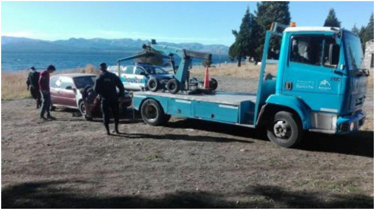 La pareja fue encontrada en Villa Cariño, Bariloche.