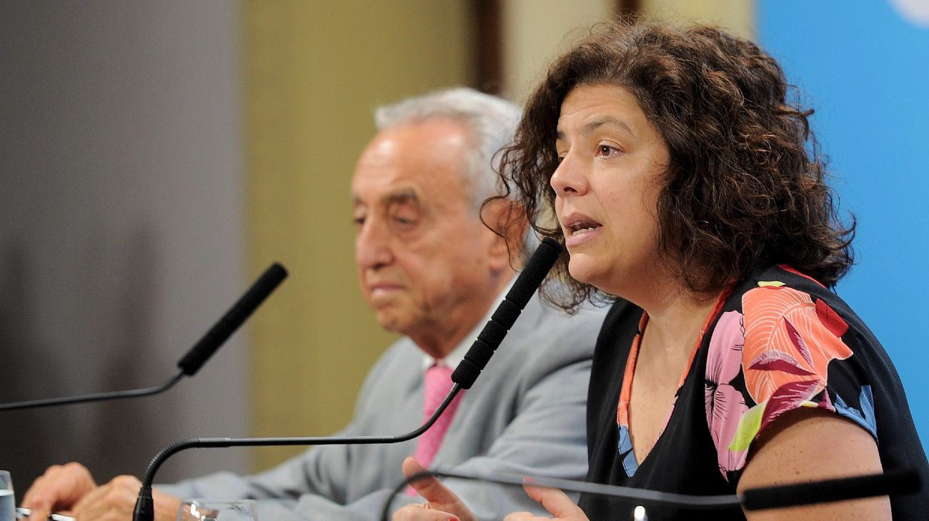 Vizzotti, referente el Gobierno en materia de comunicación de políticas de Salud.