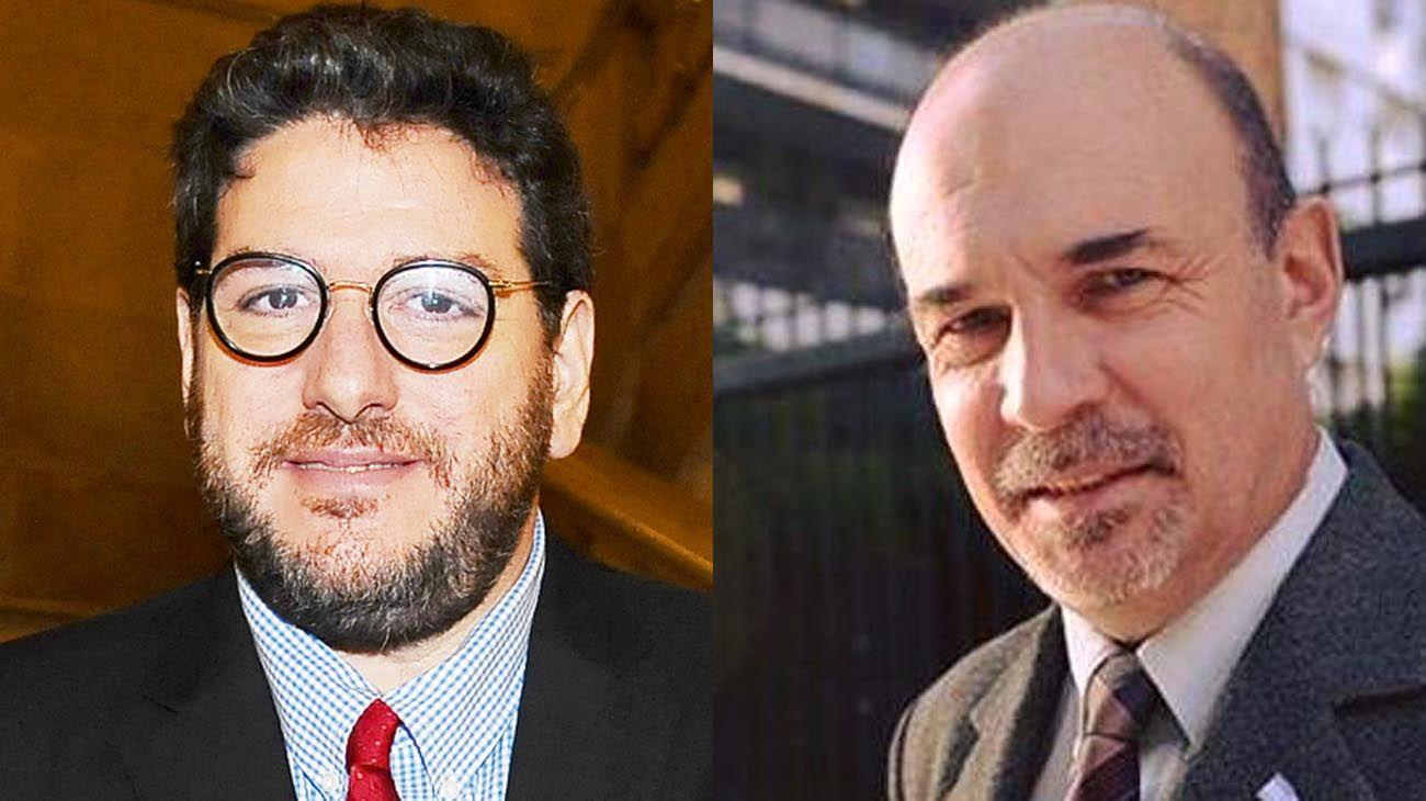 Eduardo Lazzari y Pablo Avellutto.