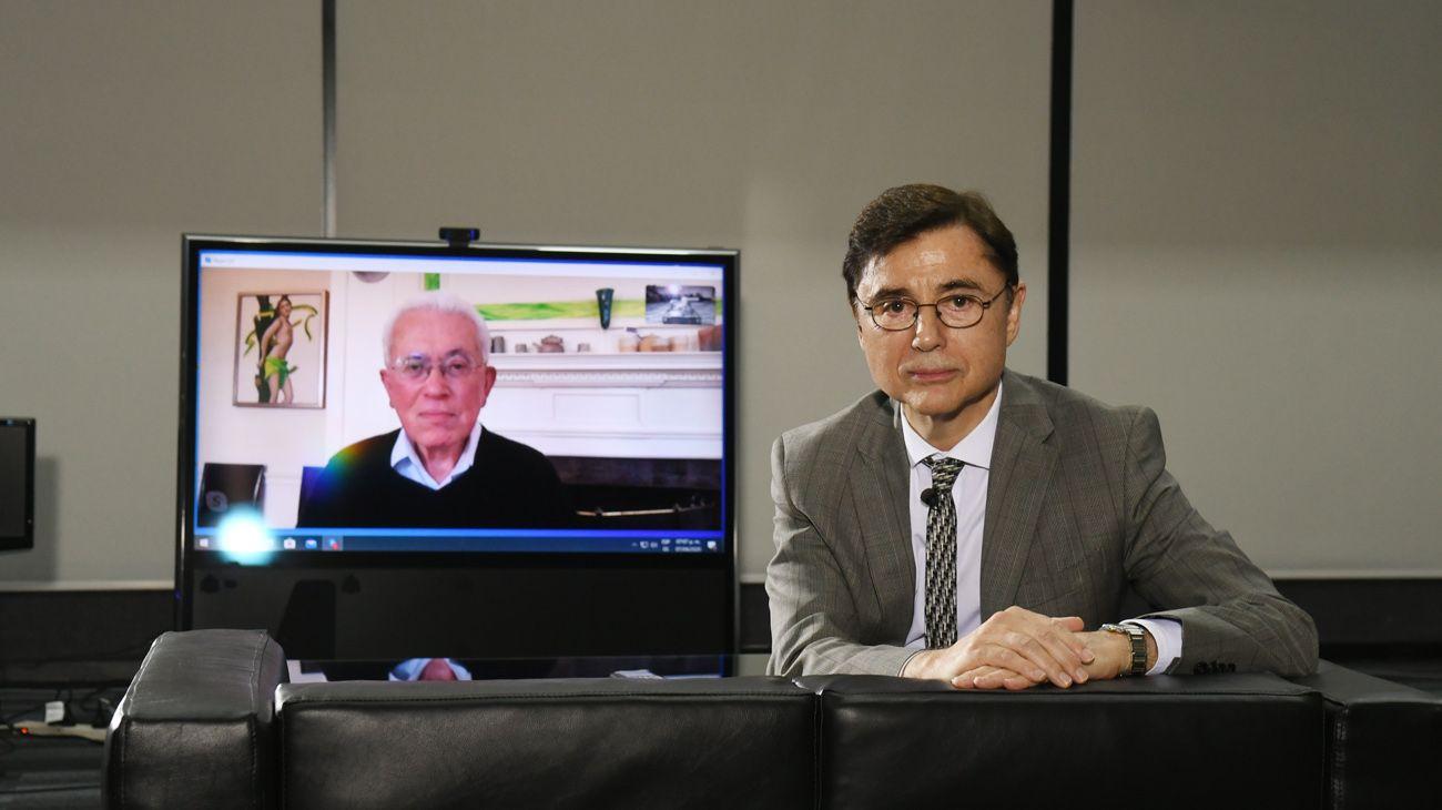 Periodismo Puro  Jorge Fontevecchia entrevista al ex ministro brasileño Roberto Mangabeira Unger