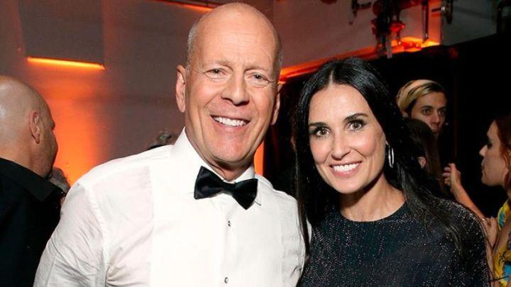 FOTOS | Demi Moore y Bruce Willis pasan la cuarentena juntos