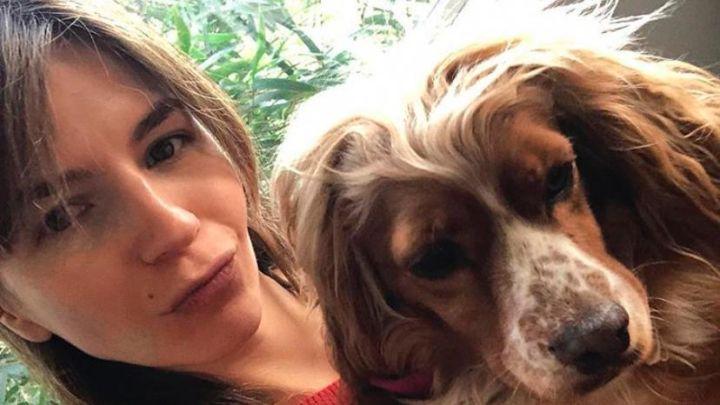 Conocé a Perri, la perrita que Marcela Kloosterboer rescató de la calle