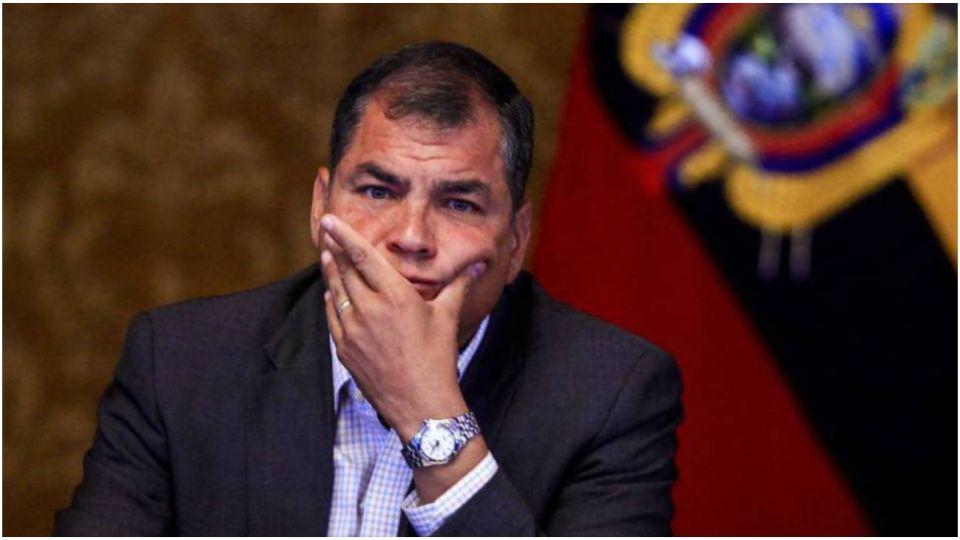 El expresidente de Ecuador fue condenado a 8 años de prisión.