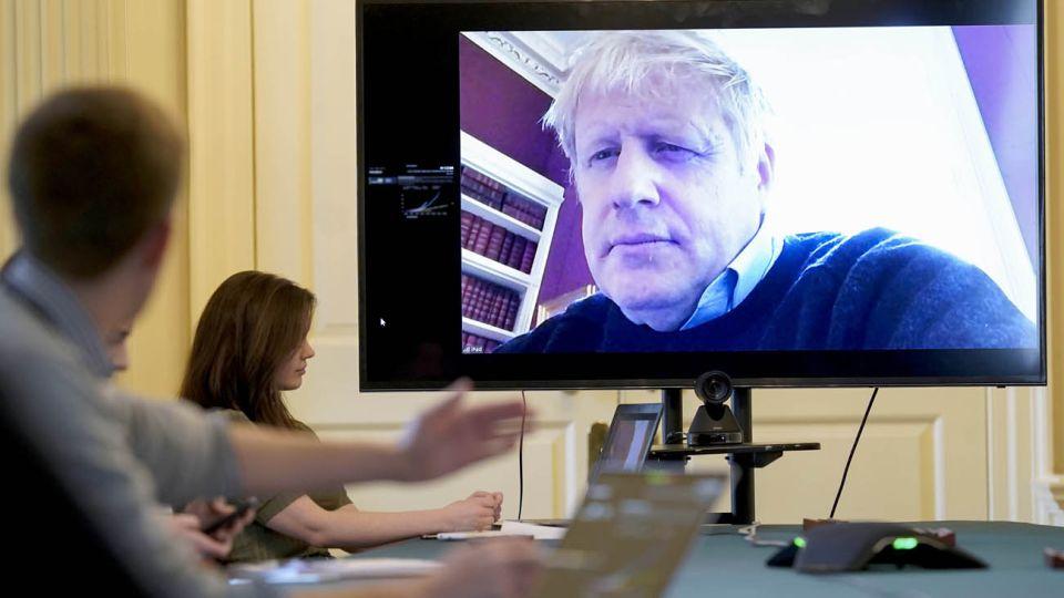 El crítico estado de salud del primer ministro británico Boris Johnson.
