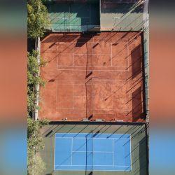 Canchas vacías en la Ciudad de Buenos Aires por la cuarentena.