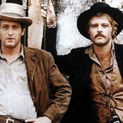 Newmann y Redford en la piel de Butch Cassidy y Sundance Kid.