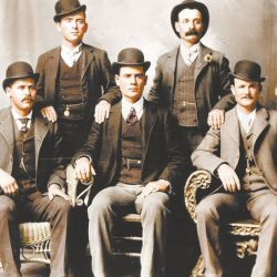 La banda de Cassidy en una foto