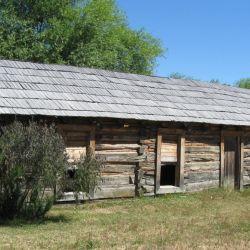 Se dice que en esta casa a 5 km de Cholila vivieron los bandoleros a principios del siglo pasado.