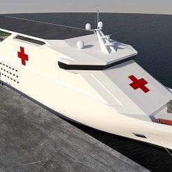 Tener un barco hospital nos permitiría brindar todo tipo de asistencia en forma rápida.