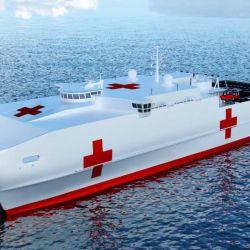 Se encuentra en desarrollo la construcción de varias unidades del buque tipo catamarán MV 22 Osprey.