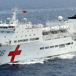 China hoy tiene solo un buque hospital, el Daishandao de 14.000 toneladas.