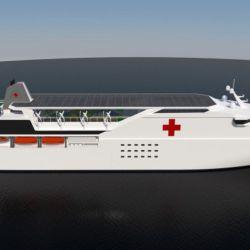 Brasil posee el proyecto Blue Frontier, diseñado por el estudio de ingeniería naval Felipe Rocco en 2016.