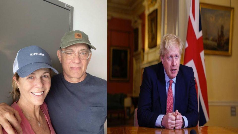 De Boris Johnson a Tom Hanks: la lista de famosos con coronavirus