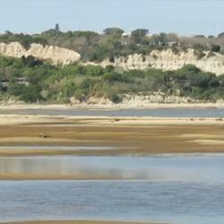Todas las cuencas de aporte al río Paraná están en situación de aguas bajas.