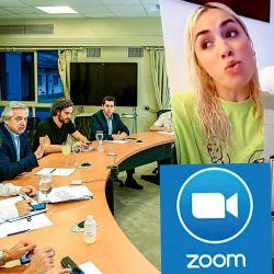 Zoom y TikTok | Foto:cedoc