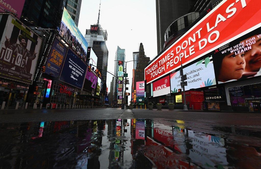 Nueva York es el epicentro de la pandemia de coronavirus en Estados Unidos.