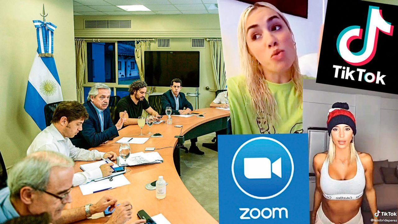 Zoom y TikTok   Foto:cedoc