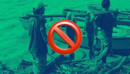 Chaco dio marcha atrás con la pesca de subsistencia y acató la cuarentena.