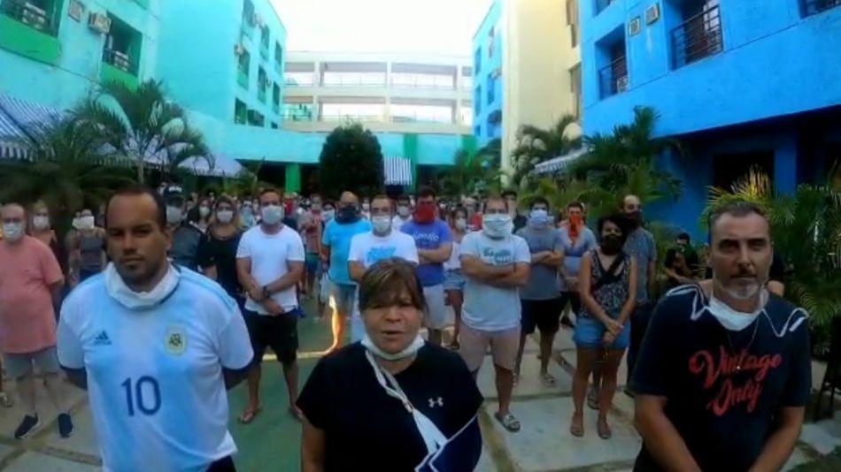 argentinos varados en cuba