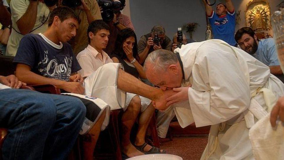 El Papa Francisco celebra el Jueves Santo desde el Vaticano