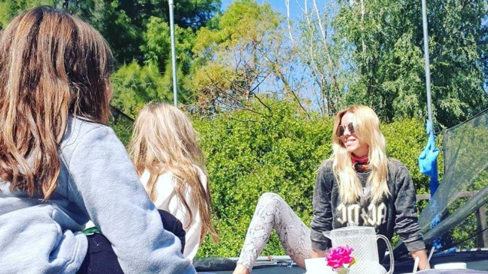 Otra vez: el palo de Nicole Neumann a Cubero por sus hijas en cuarentena
